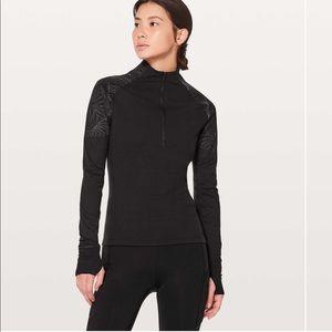 LULULEMON Toasty Tech Half Zip Pullover Shirt 12